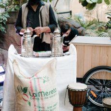 Al Aseel Bankstown Opening Night Coffee Station