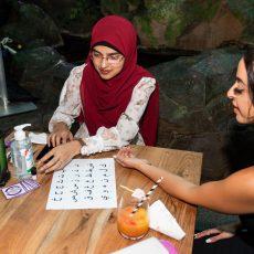 Al Aseel Bankstown Opening Night Henna Tattoo
