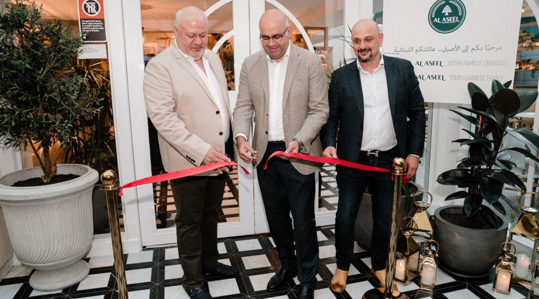 Al Aseel Bankstown Opening Night Ribbon Cutting